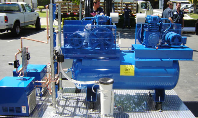 Types of Industrial Compressors